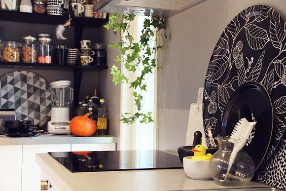 Bild på keittiö  Koti kolmelle av kotikolmelle