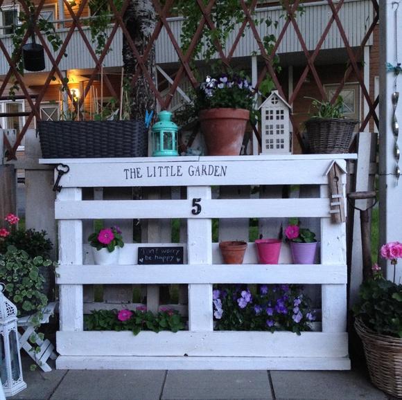 parveke,kuormalava,eurolava,kukkapöytä,Tee itse - DIY
