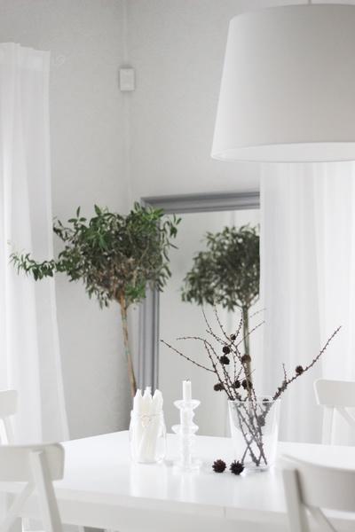 Kuva ruokailutila  Olohuoneen valkea unelma  lapetiteprincesse