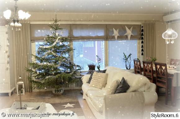 joulukuusi,olohuone,tähti
