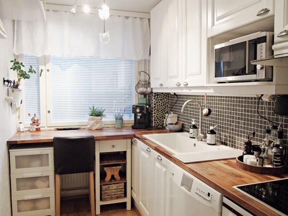 Inspiroivia kuvia aiheesta keittiön verhot