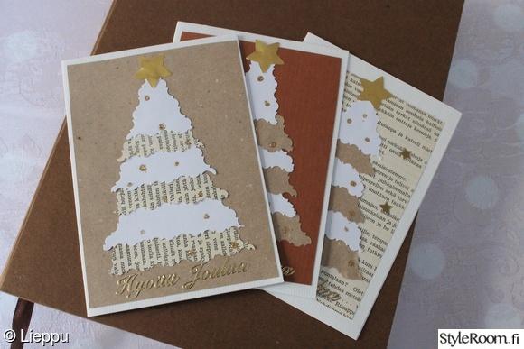 joulu,joulukortit,joulukortti,ruskea,joulukuusi