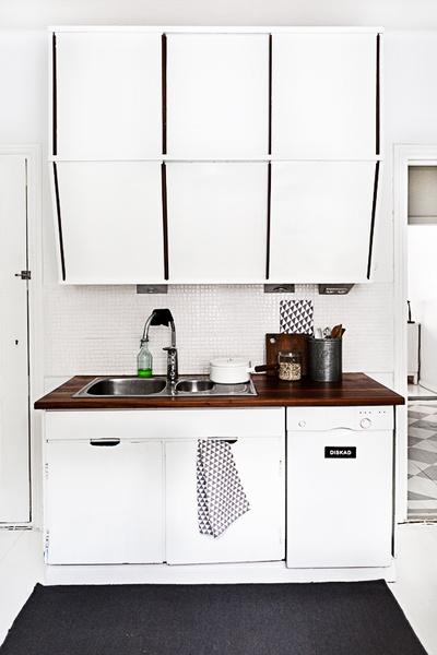 Mustavalkoinen keittiö koti ja sisustusideat  StyleRoom