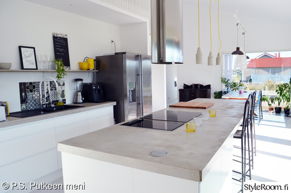 Inspiroivia kuvia aiheesta keittiön saareke
