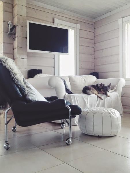tuoli,vaalea,nahkainen nojatuoli,nojatuoli,vintage