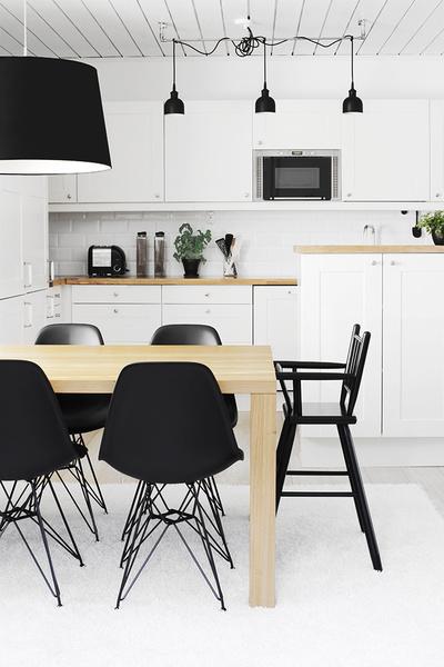 Kuva 7  Keittiö ja ruokailutila  designwash