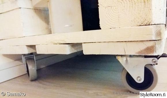Bild på olohuone  Olohuone valmistautuu saapuvaan syksyyn ja uusi tv taso ku