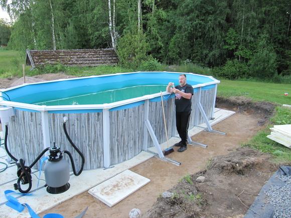 Uima Altaan Rakentaminen