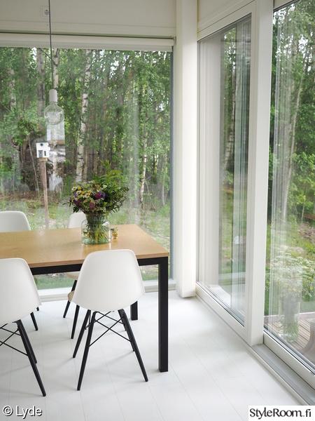 keittiö,moderni,vitra,eames,diy pöytä