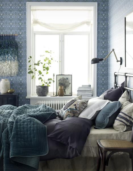 Syksyinen sisustus makuuhuone koti ja sisustusideat  StyleRoom