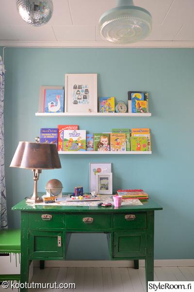 kirjoituspöytä,vintage,tee se itse,diy,ikea