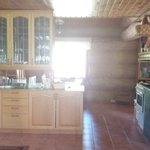 Keittiöremontti hirsitalossa