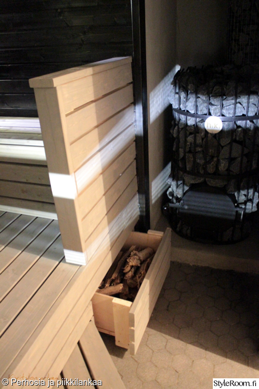 sauna,remontti,before/after