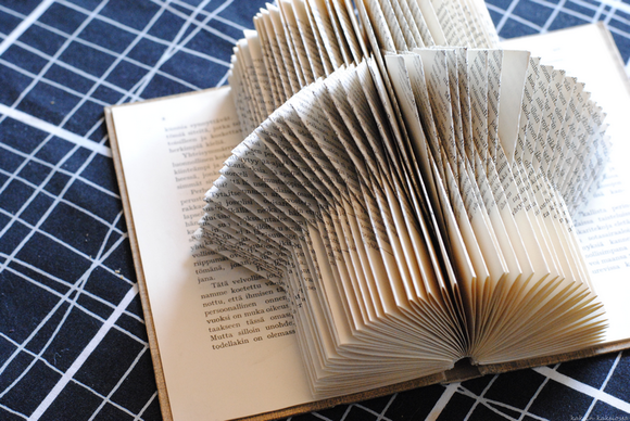 book,folding,book folding,Tee itse - DIY